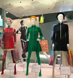 On arrival at the V&A I spotted the Mary Quant Exhibition and decided to buy a ticket for that too. My favourite doll was the Mary Quant Daisy Doll! Sixties Fashion, 1960s Mod Fashion, Sporty Fashion, Ski Fashion, Fashion Women, Elsa Schiaparelli, Mary Quant Dress, Lanvin, Christian Dior