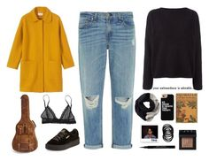 """""""Winter outfit"""" by blackcherrypie1 ❤ liked on Polyvore featuring SOREL, rag & bone, Balmain, Toast, Puma, Casetify, NARS Cosmetics, Eberjey and Givenchy"""