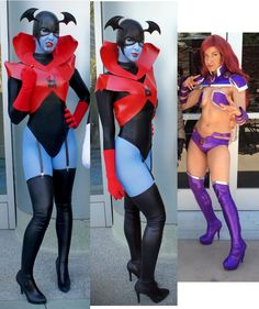 HEY GUYS so over the last couple months ive gotten a BUNCH of asks/comments about how i made my Starfire/Bleez boots. They're suuuuper easy, and only have a single back seam. Cosplay Boots, Cosplay Diy, Cosplay Outfits, Best Cosplay, Cosplay Costumes, Raven Cosplay, Awesome Cosplay, Diy Halloween Costumes, Halloween Cosplay