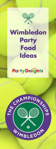 Celebrate Wimbledon 2016 with our Wimbledon party food ideas - tennis ball shortbread, strawberries and cream, how to make the perfect Pimm's and more! Loads of tennis party food ideas that would be perfect for a Wimbledon party.