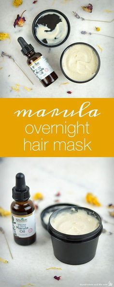 Marula Overnight Hair Mask - Humblebee & Me , Best Picture For DIY Hair Care coconu Hair Mask For Damaged Hair, Hair Mask For Growth, Diy Hair Mask, Oily Hair, Diy Mask, Hair Masks, Frizzy Hair, Natural Hair Loss Treatment, Natural Hair Care