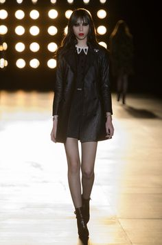 Saint Laurent Fall 2015 Ready-to-Wear Collection  - ELLE.com