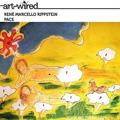 Man, Woman, Peace, Flowers, Nudes, Painting at www.art-wired.com