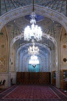 Dar-al- Rahmah Porch,Imam Reza shrine, Mashhad, Iran (Islamic Art)