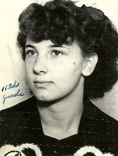 My mom in high school