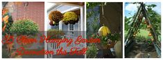 35 Clever Hanging Garden Decoration this Fall - Easy Hobbies, Hobbies For Women, Hobbies To Try, Hobbies That Make Money, Great Hobbies, Hobbies And Crafts, How To Make Money, Hobby Lobby Letters, Hobby Lobby Crafts