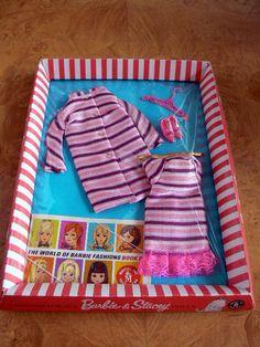 Vintage Barbie Dancing Stripes 1843 1968 Mint NRFP   eBay