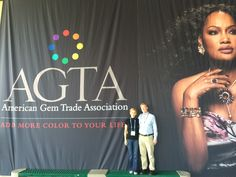 We are at the American Gem Trade Association (AGTA) show in Tucson today, keeping up with the latest colored gemstone trends!