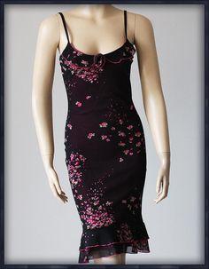 2498dc338c PINEAPPLE Sukienka BORDO RÓZYCZKI 34 36 XS S AGNES - 6920892986 - oficjalne  archiwum allegro