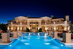 Big beautiful houses with pools big house and pool pretty big houses best beautiful homes images . big beautiful houses with pools beautiful beach house Big Houses, Pool Houses, Dream Houses, Fancy Houses, Future House, Dream Mansion, Dream Pools, Mansions Homes, Huge Mansions