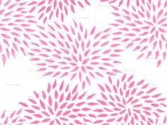 My design, Summer mums in pink.  #fabric #pink #pattern #flowers