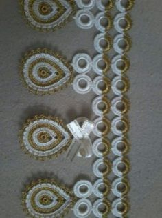 Crochet Borders, Filet Crochet, Crochet Doilies, Crochet Lace, Baby Knitting Patterns, Loom Knitting, Crochet Patterns, Crochet Keychain Pattern, Viking Tattoo Design