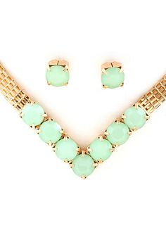Mintylicious Necklace Set
