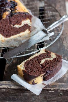 Marbré au chocolat à la ricotta | sans beurre