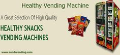 #HealthyVending #VendingMachine