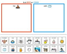 math worksheet : free winter cut and paste pattern worksheet  winter for kinders  : Hot And Cold Worksheets For Kindergarten