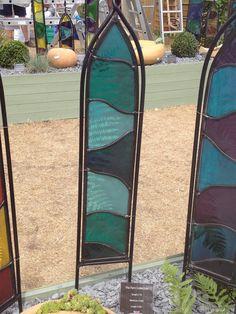 Lovely Amanda Seljubac Stained Glass   Garden Panels