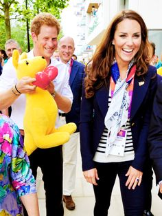 Prince Harry and Duchess Kate Middleton