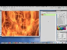 Photoshop CS5 Tutorial - How to Place Images in Text - YouTube