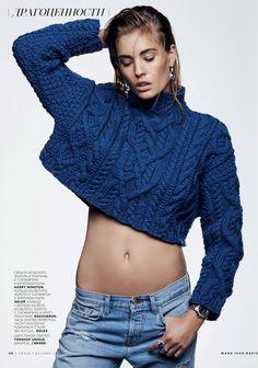 Nadja Bender por Ward Ivan Rafik para Vogue Rússia Dezembro 2014 [Editorial]