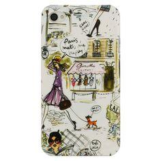 "Paris Makes Me Happy iPhone Case  Izak $16  ""Paris is always a good idea.""  ~Audrey Hepburn"