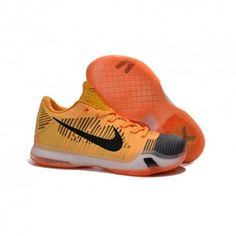 wholesale dealer 21bf0 eca3a The cheap Authentic Nike Kobe 10 Elite  Rivalry  Total Orange Laser  Orange Tumbled Grey Black Shoes factory store are awesome pair of shoes but  it seems the ...
