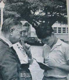 Jean Paul Sartre, Simone de Beauvoir e João Jorge Amado em Salvador- BA | Flickr - Photo Sharing!