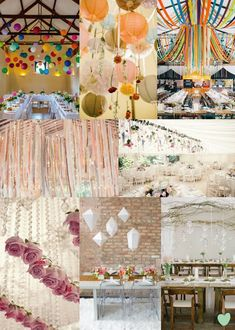 #Wedding #Ceiling #Decoration Ideas Mood Board from The Wedding Community