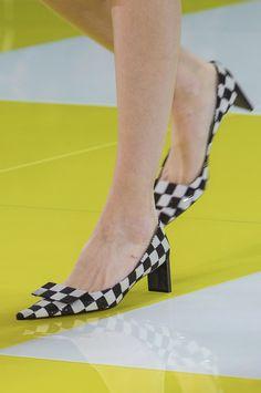 Louis Vuitton Spring 2013 - Details coolest shoes ever! Coolest Shoes Ever, Shoe Boots, Shoes Heels, Runway Shoes, 1960s Fashion, Paris Fashion, High Fashion, Louis Vuitton Shoes, Spring Shoes