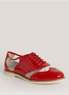 Bass - Clear-panel patent-leather Oxfords | Lane Crawford