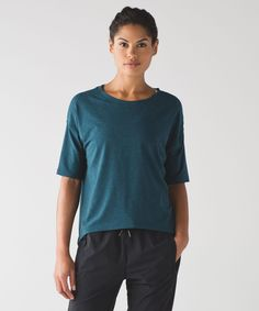 Women's Short Sleeve Top - Ambleside Crew Short Sleeve - lululemon