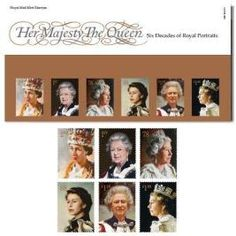 Her Majesty the Queen: Six Decades of Royal Portraits Presentation Pack