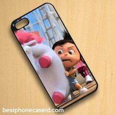 Agnes Its so fluffy Despicable Me iPhone Case Hard Cover for iPhone 4 4S 5 5S 5C – Best Phone Case