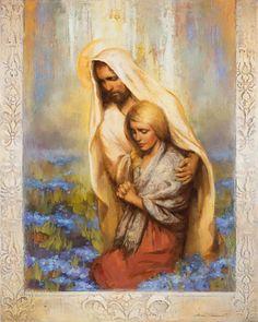 Jesus Calming the Storm: 10+ Comforting Images — Altus Fine Art Lds Pictures, Pictures Of Jesus Christ, Jesus Christ Lds, Lds Art, Artist Gallery, Religious Art, Framed Art, Framed Canvas, Canvas Art