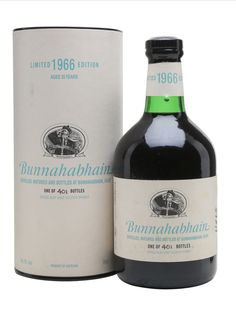 BUNNAHABHAIN 1966 35 Year Old Sherry Cask, Islay