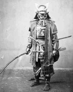 Samurai, Photograph by Felice Beato, 1860s.