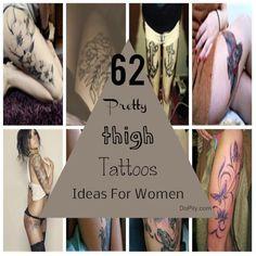 62 Pretty Thigh Tattoos Ideas For Women