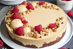 Tart, Valentines Food, Fika, Cheesecake, No Bake Cake, Food Pictures, Frosting, Sweet Tooth, Goodies