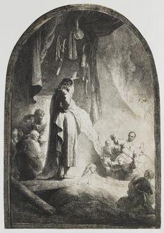 Rembrandt: The Raising of Lazarus (1630-34)