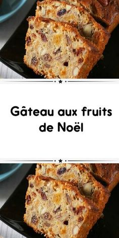 Gâteau aux fruits de Noël Christmas fruit cake a delicious cake for your Christmas parties. A recipe for how to make Christmas fruit cake so simple and easy. Pear And Chocolate Cake, Fig Cake, Gateau Cake, Cake Recipes, Dessert Recipes, Almond Cakes, Savoury Cake, Coffee Recipes, Clean Eating Snacks