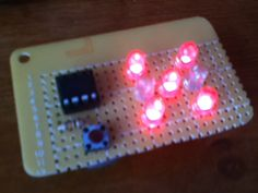 If you have looked at my 5 LED ATtiny85 POV display, we programmed the ATtiny with the Arduino. (If you haven't seen it, click here) We will be doing the same thing...