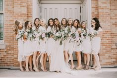 the best bridesmaid dresses in every style | mismatched bridesmaids dresses | white bridesmaids dresses | Kayla's Five Things