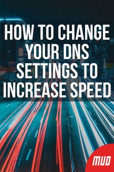 How to Change Your DNS Settings to Increase Speed --- Changing your DNS settings is often cited as one of the easiest ways to optimize your internet speed. So, let's take a look at how DNS works and how to change your DNS settings. Technology Hacks, Computer Technology, Computer Programming, Computer Science, Energy Technology, Medical Technology, Computer Projects, Computer Basics, Computer Help