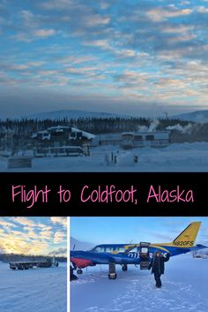 The Coldfoot Adventure Starts in Fairbanks, Alaska! You may have seen the Coldfoot truck stop on Ice Road Truckers. The town made famous in the early 1900s by the gold hunters, now is famous by a tv show! That's where I'm flying to!