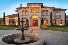 Beautiful Symmetry And Elegance Of Mediterranean House Exterior (Image 3 of 30)