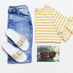 We love stripes! Our Love, Photo Galleries, Stripes, Image, Instagram, Fashion, Moda, La Mode, Fasion