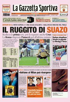 SCRIVOQUANDOVOGLIO: LA GAZZETTA DELLO SPORT (25/11/2007)