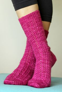 Ravelry: Cavalcade Socks pattern by Tanis Lavallee #knit #socks