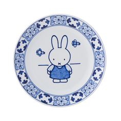 Royal Delft has been a surprising addition to its extensive assortment: the world famous Miffy. Our richly decorated earthenware now also includes the clear, simple lines of illustrations made by Dick Bruna (¸ copyright Mercis bv). This new line unites two world famous Dutch products.