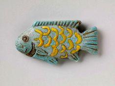 Egyptian decorative art fish - Google Search